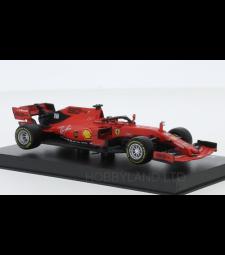 Ferrari SF90, No.16, scuderia Ferrari, formula 1, GP Australia, with figure of driver, C.Leclerc, 2019