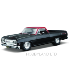 Chevrolet El Camino, matt-black/red