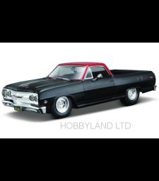 Chevrolet El Camino, matt-black/red