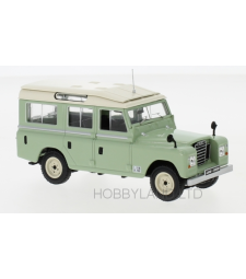 Land Rover series II 109 station wagon, light green, 1958