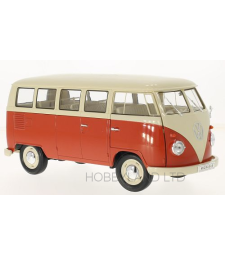 VW T1, beige/light red, bus, 1963