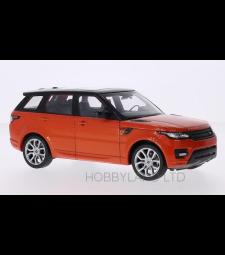 Land Rover Range Rover sport, metallic dark orange/black