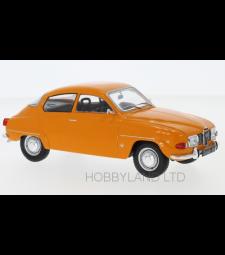 Saab 96 V4, orange, 1970