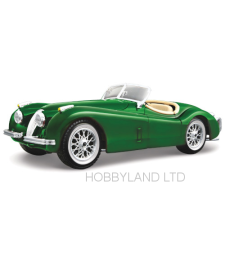 Jaguar XK 120 Roadster, green, 1948
