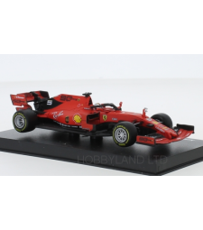 Ferrari SF90, No.5, scuderia Ferrari, formula 1, GP Australia, with figure of driver, S.Vettel, 2019