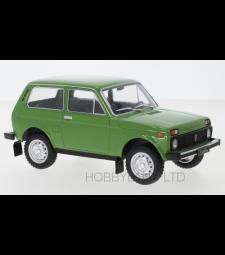 Lada Niva, green