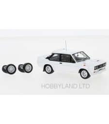 Fiat 131 Abarth, white, Plain Body Version, including  spare parts, 1978