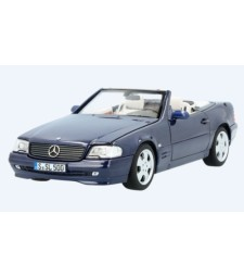 Mercedes 500 SL (R129), Metallic-dark blue with Softtop and Hardtop 1998