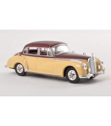 Mercedes 300c (W186), beige/brown, 1955