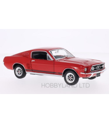 Ford Mustang GT Fastback, red, 1967