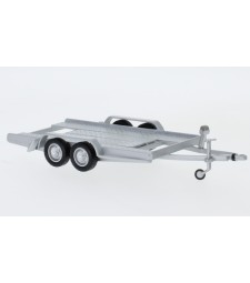 Trailer autotrailer, silver