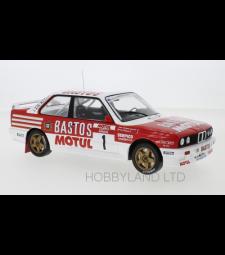 BMW E 30 M3, No.1, tour de Corse, B.Beguin / J.Lenne, 1988