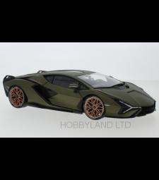 Lamborghini Sian FKP 37, matt olive-green, 2019