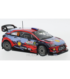 Hyundai i20 WRC, No.19, WRC, Rally Chile, S.Loeb/D.Elena, 2019