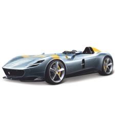 Ferrari Monza SP1, Metallic-Grey/Yellow