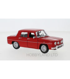 Renault R8 Gordini, red/white