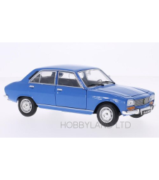 Peugeot 504, light blue, without showcase, 1975