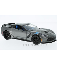 Chevrolet Corvette Grand sport, metallic-grey without showcase