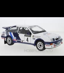 Ford Sierra RS Cosworth, No.4, Rallye WM, 1000 Lakes Rallye S.Blomqvist/B.Melander