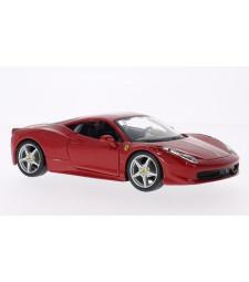 Ferrari 458 Italia, red without showcase