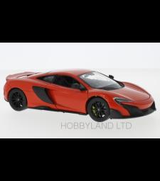 McLaren 675LT, light red