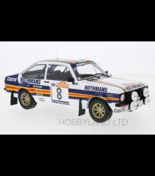 Ford Escort MKII RS 1800, No.8, Rothmans, Rallye WM, Rally San Remo, H.Mikkola/A.Hertz, 1980