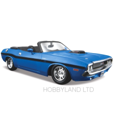 Dodge Challenger R/T Convertible, metallic-blue