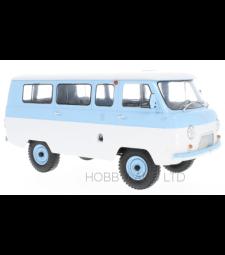 UAZ 452V Minibus (2206), light blue/white