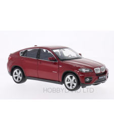 BMW X6, dark red