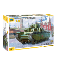 1:72 SOVIET HEAVY TANK T-35