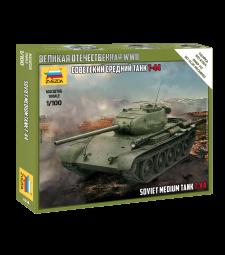 1:100 T-44 SOVIET TANK - Snap-fit