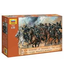 1:72 Black Hussars of Frederick II - 19 figures