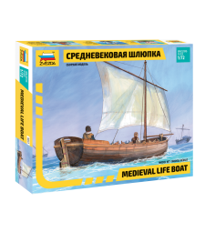 1:72 MEDIEVAL LIFE BOAT