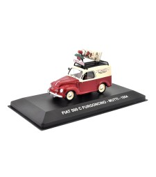 FIAT 500 C FURGONCINO - MUTTI - 1954