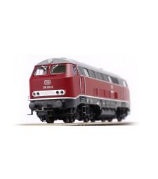 Diesel locomotive BR 216 of the DB, epoch IV with sound