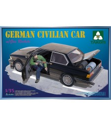 1:35 German Civilian Car with Gas Rockets