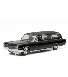 1966 Cadillac S&S Limousine - Black - Precision Collection