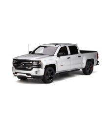 CHEVROLET SILVERADO RED LINE EDITION SILVER ICE METALLIC