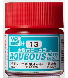 H-013 Flat Red (10ml) - Mr. Color