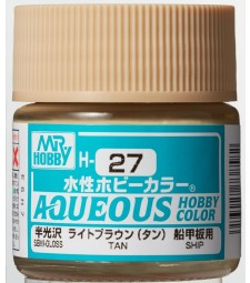 H-027 Gloss Tan (10ml) - Mr. Color for Worship Models