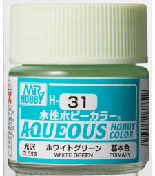 H-031 Gloss White Green (10ml) - Mr. Color