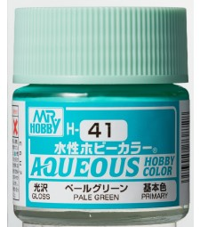 H-041 Gloss Pale Green (10ml) - Mr. Color