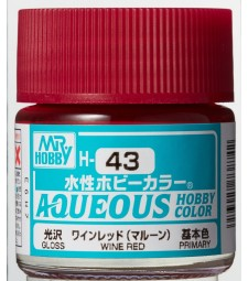 H-043 Gloss Wine Red (10ml) - Mr. Color
