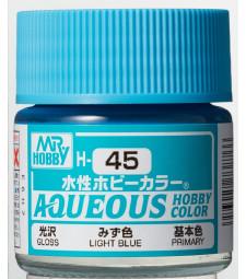 H-045 Gloss Light Blue (10ml) - Mr. Color