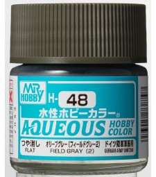 H-048 Gloss Field Grey 2 (10ml) - Mr. Color for Tank Models, Germany, WWII