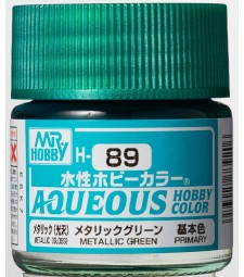 H-089 Metallic Green (10ml) - Mr. Color for Car Models, Germany