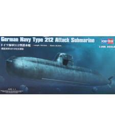 1:350 German Navy Type 212 Attack Submarine
