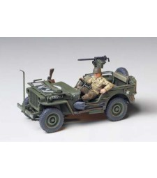 1:35 Jeep Willys MB 1/4 Ton Truck - 1 figure