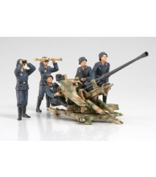 1:35 3.7cm FLAK37 Anti-Aircraft Gun - w/Crew Set