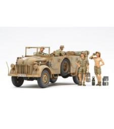 1:35 German Steyr Type 1500A/01 - & Africa Corps Infantry @ Rest